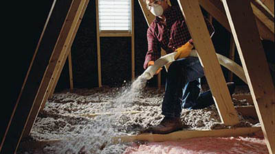 Cellulose vs fiberglass everguard insulation for Blown in mineral wool insulation